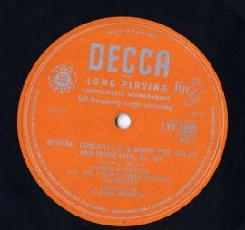 GB  DEC  LXT2999 フルニエ&クーベリック  ドヴォル…