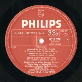 NL  PHIL  6514 379 ネヴィル・マリナー ヴィヴァル…