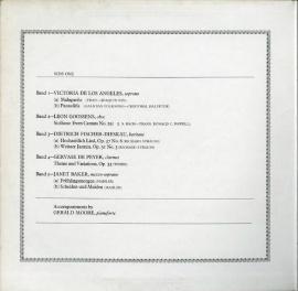 GB EMI  SAN255 ジェラルド・ムーア 室内楽曲集