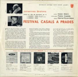 FR PHIL  A01.207L カザルス ブラームス・ピアノ三重奏