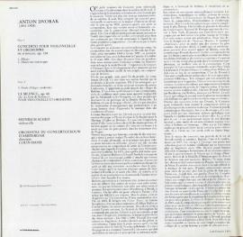 FR PHIL  6514 071 ハインリヒ・シフ ドヴォルザーク…