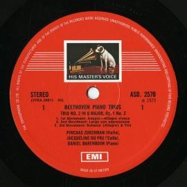 GB EMI SLS789/5 ジャクリーヌ・デュ・プレ ベートーヴ…