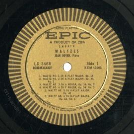 US EPIC  LC3468 ジャン・ドワイヤン ショパン・ピアノ…