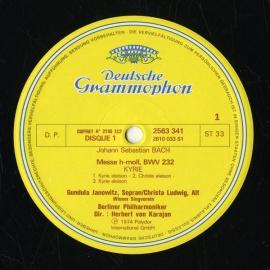 DE DGG 2740 112 ヘルベルト・フォン・カラヤン バッハ…