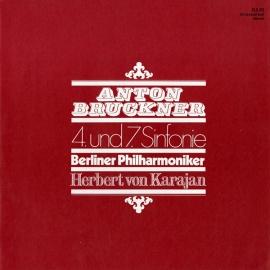 GB EMI SLS811 カラヤン ブルックナー・交響曲4&…