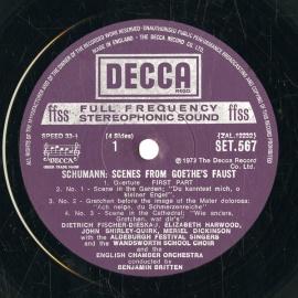 GB DEC SET567-8 ベンジャミン・ブリテン シューマン・…