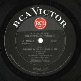 US RCA LE-6006 トスカニーニ&ミュンシュ&am…