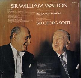 GB  DEC  SET618 ショルティ  ウォルトン・名曲選