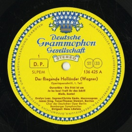 DE DGG 136 425 ハンス・レーヴライン ワーグナー・さま…