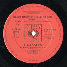 GB CBS 61896 バーンスタイン モーツァルト・ピアノ協奏曲