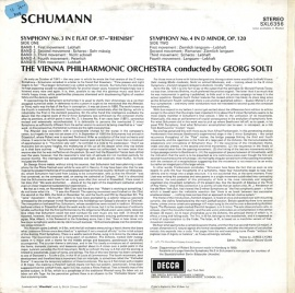 GB DEC SXL6356 ゲオルク・ショルティ シューマン・交響…