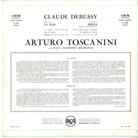 FR RCA A630 266 アルトゥーロ・トスカニーニ ドビュッ…