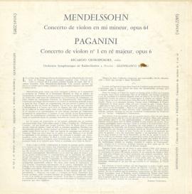 FR CSH MMS2205 リカルド・オドノポソフ パガニーニ・ヴ…