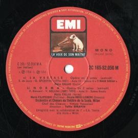 FR EMI 2C165-5205619 マリア・カラス オペラ歌曲集
