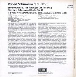 GB  DEC  SXL6486 ゲオルク・ショルティ シューマン・…