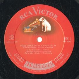 CA RCA LSC2997 アルトゥール・ルービンシュタイン シュ…