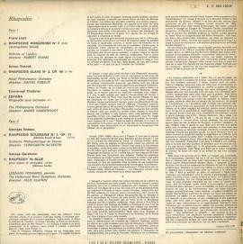 FR VSM C053-12018 レナード・ペナリオ 狂詩曲集