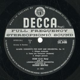 GB  DEC  SXL6406 リチャード・ボニング ロシア曲集