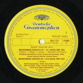 GB DGG 2736 001 カール・リヒター バッハ・有名曲集 …