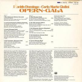 DE  DGG  725 051 ジュリーニ&ドミンゴ ドニ…