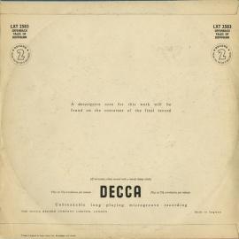 GB  DEC  LXT2582-84 トーマス・ビーチャム オッフ…