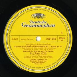 DE DGG 2720 030 アンダ・ゲーザ モーツァルト・ピアノ…