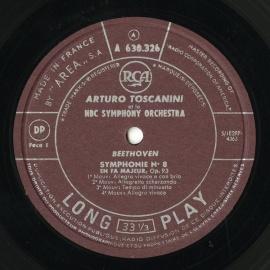 FR RCA A630 326-327 アルトゥーロ・トスカニーニ …