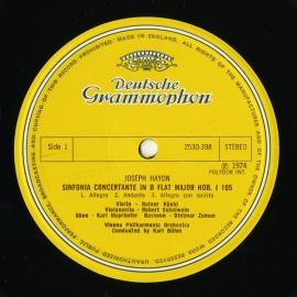 GB DGG 2530 398 カール・ベーム ハイドン・協奏交響曲…