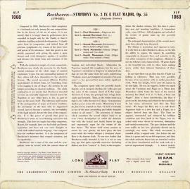 GB EMI  ALP1060 ヴィルヘルム・フルトヴェングラー ベ…