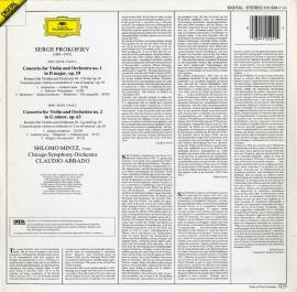 DE DGG  410 524-1 シュロモ・ミンツ プロコフィエフ…