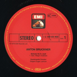 DE EMI  C157-03 402/3 オイゲン・ヨッフム ブル…