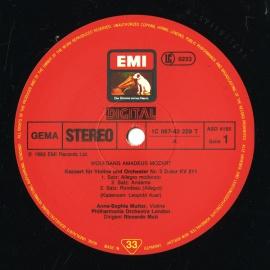DE EMI  C067-43 229 ムター&ムーティ モ…