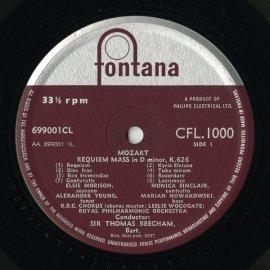 GB PHIL  CFL1000 トーマス・ビーチャム モーツァルト…