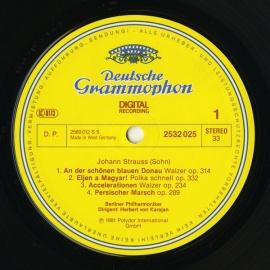 DE DGG  2532 025 ヘルベルト・フォン・カラヤン J.…