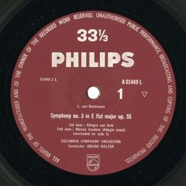 GB PHIL  A01449L ブルーノ・ワルター ベートーヴェン…