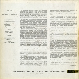 FR VSM ASDF243 ジョルジュ・シフラ リスト・ピアノ協奏…
