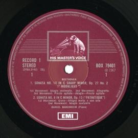 GB EMI SLS794/12 ダニエル・バレンボイム ベートーヴ…