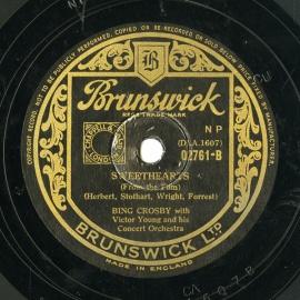 【SP盤】GB BRUNSWICK 02761 BING CROSB…