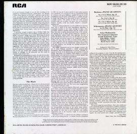GB RCA SER5628-30 ルービンシュタイン&グァ…