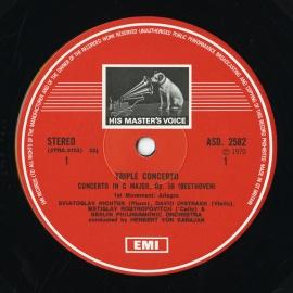 GB EMI ASD2582 ヘルベルト・フォン・カラヤン ベートー…