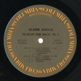 US CBS M31073 グレン・グールド モーツァルト・ピアノソ…