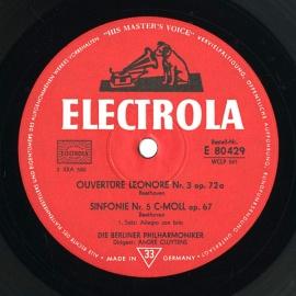 DE EMI E80 429 アンドレ・クリュイタンス べートーヴェ…