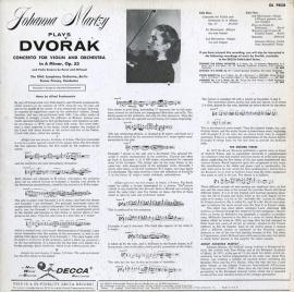 US DEC DL9858 ヨハンナ・マルツィ ドヴォルザーク・ヴァ…