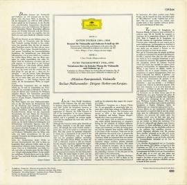 DE DGG 139 044 カラヤン&ロストロポーヴィチ …