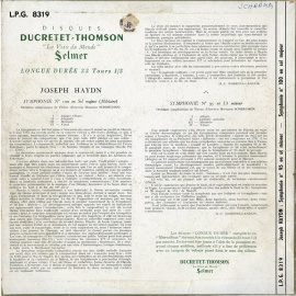 FR DT LPG8319 ヘルマン・シェルヘン ハイドン・交響曲9…