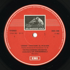 NL EMI ASD548 ジョン・バルビローリ エルガー・創作主題…