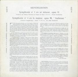 FR CHS M-2235 ジョン・バルビローリ メンデルスゾーン・…