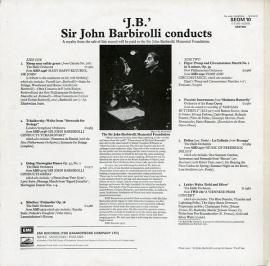 GB EMI SEOM 10 ジョン・バルビローリ ジョン・バルビロ…