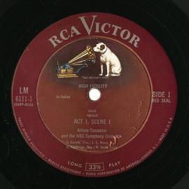 US RCA LM-6111 アルトゥーロ・トスカニーニ ヴェルディ…