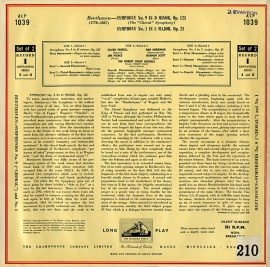 GB EMI ALP1039-40 アルトゥーロ・トスカニーニ べー…
